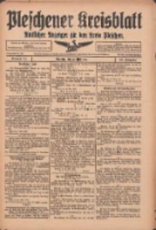 Pleschener Kreisblatt: Amtlicher Anzeiger für den Kreis Pleschen 1916.05.20 Jg.64 Nr41