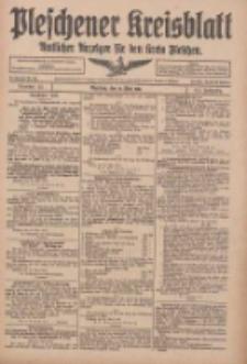 Pleschener Kreisblatt: Amtlicher Anzeiger für den Kreis Pleschen 1916.05.31 Jg.64 Nr44