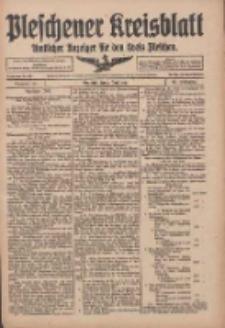 Pleschener Kreisblatt: Amtlicher Anzeiger für den Kreis Pleschen 1916.06.07 Jg.64 Nr46
