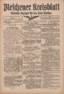 Pleschener Kreisblatt: Amtlicher Anzeiger für den Kreis Pleschen 1916.06.17 Jg.64 Nr49