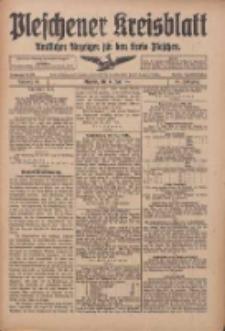 Pleschener Kreisblatt: Amtlicher Anzeiger für den Kreis Pleschen 1916.06.24 Jg.64 Nr51