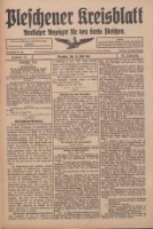 Pleschener Kreisblatt: Amtlicher Anzeiger für den Kreis Pleschen 1916.06.28 Jg.64 Nr52