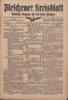 Pleschener Kreisblatt: Amtlicher Anzeiger für den Kreis Pleschen 1916.07.05 Jg.64 Nr54