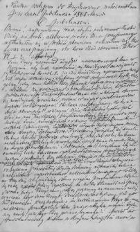 Nauka wstępna na trzydniowe nabożeństwa w czasie Jubileuszu 1865 roku