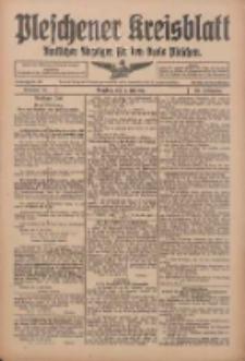Pleschener Kreisblatt: Amtlicher Anzeiger für den Kreis Pleschen 1916.07.08 Jg.64 Nr55