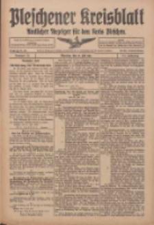 Pleschener Kreisblatt: Amtlicher Anzeiger für den Kreis Pleschen 1916.07.12 Jg.64 Nr56
