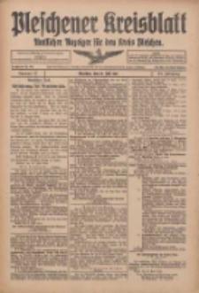 Pleschener Kreisblatt: Amtlicher Anzeiger für den Kreis Pleschen 1916.07.15 Jg.64 Nr57