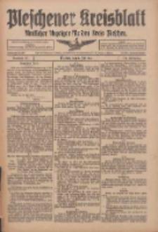 Pleschener Kreisblatt: Amtlicher Anzeiger für den Kreis Pleschen 1916.07.19 Jg.64 Nr58