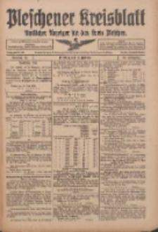 Pleschener Kreisblatt: Amtlicher Anzeiger für den Kreis Pleschen 1916.07.22 Jg.64 Nr59