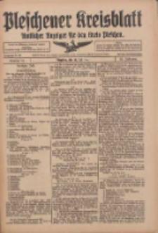 Pleschener Kreisblatt: Amtlicher Anzeiger für den Kreis Pleschen 1916.07.29 Jg.64 Nr61
