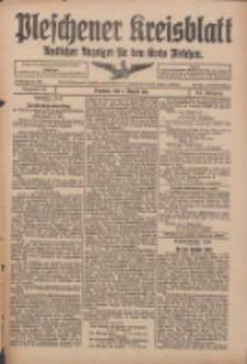 Pleschener Kreisblatt: Amtlicher Anzeiger für den Kreis Pleschen 1916.08.05 Jg.64 Nr63