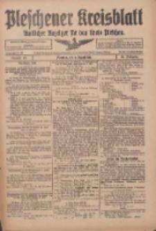 Pleschener Kreisblatt: Amtlicher Anzeiger für den Kreis Pleschen 1916.08.09 Jg.64 Nr64