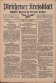 Pleschener Kreisblatt: Amtlicher Anzeiger für den Kreis Pleschen 1916.08.19 Jg.64 Nr67