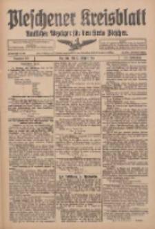 Pleschener Kreisblatt: Amtlicher Anzeiger für den Kreis Pleschen 1916.08.23 Jg.64 Nr68