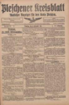 Pleschener Kreisblatt: Amtlicher Anzeiger für den Kreis Pleschen 1916.09.06 Jg.64 Nr72