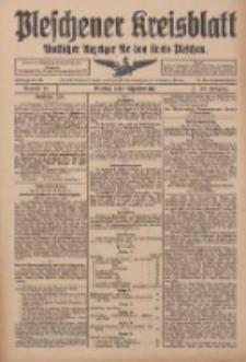 Pleschener Kreisblatt: Amtlicher Anzeiger für den Kreis Pleschen 1916.09.09 Jg.64 Nr73