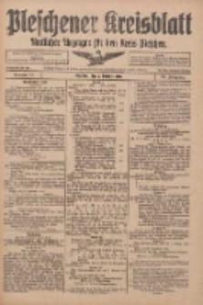 Pleschener Kreisblatt: Amtlicher Anzeiger für den Kreis Pleschen 1916.10.07 Jg.64 Nr81