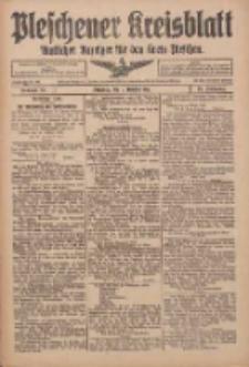 Pleschener Kreisblatt: Amtlicher Anzeiger für den Kreis Pleschen 1916.10.11 Jg.64 Nr82