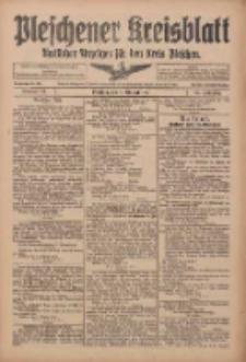 Pleschener Kreisblatt: Amtlicher Anzeiger für den Kreis Pleschen 1916.10.14 Jg.64 Nr83