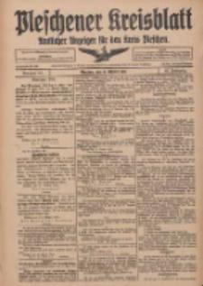 Pleschener Kreisblatt: Amtlicher Anzeiger für den Kreis Pleschen 1916.10.18 Jg.64 Nr84