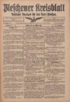 Pleschener Kreisblatt: Amtlicher Anzeiger für den Kreis Pleschen 1916.10.25 Jg.64 Nr86