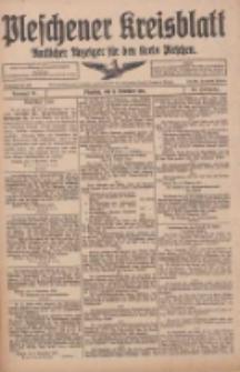 Pleschener Kreisblatt: Amtlicher Anzeiger für den Kreis Pleschen 1916.11.11 Jg.64 Nr91
