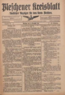 Pleschener Kreisblatt: Amtlicher Anzeiger für den Kreis Pleschen 1916.11.22 Jg.64 Nr94