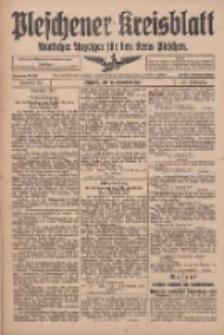 Pleschener Kreisblatt: Amtlicher Anzeiger für den Kreis Pleschen 1916.11.29 Jg.64 Nr96