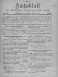 Amtsblatt der Königlichen Preussischen Regierung zu Bromberg. 1905.07.13 No.28