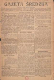 Gazeta Średzka: niezależne pismo polsko-katolickie 1922.10.01 R.1 Nr1