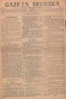 Gazeta Średzka: niezależne pismo polsko-katolickie 1922.10.03 R.1 Nr2