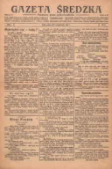 Gazeta Średzka: niezależne pismo polsko-katolickie 1922.10.07 R.1 Nr4