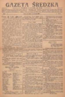 Gazeta Średzka: niezależne pismo polsko-katolickie 1922.10.10 R.1 Nr5
