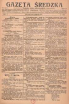 Gazeta Średzka: niezależne pismo polsko-katolickie 1922.10.14 R.1 Nr7