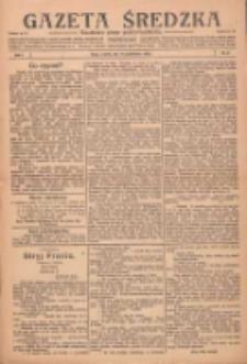 Gazeta Średzka: niezależne pismo polsko-katolickie 1922.10.17 R.1 Nr8