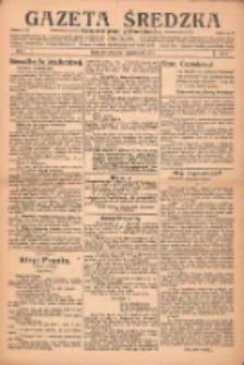 Gazeta Średzka: niezależne pismo polsko-katolickie 1922.10.19 R.1 Nr9