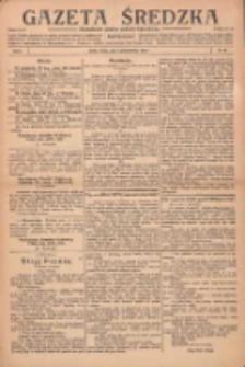 Gazeta Średzka: niezależne pismo polsko-katolickie 1922.10.21 R.1 Nr10
