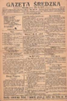 Gazeta Średzka: niezależne pismo polsko-katolickie 1922.10.31 R.1 Nr14