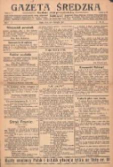 Gazeta Średzka: niezależne pismo polsko-katolickie 1922.11.04 R.1 Nr16