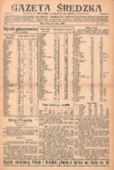 Gazeta Średzka: niezależne pismo polsko-katolickie 1922.11.07 R.1 Nr17