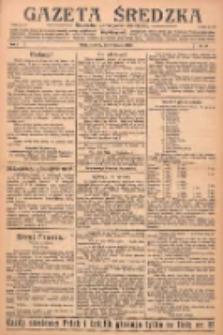 Gazeta Średzka: niezależne pismo polsko-katolickie 1922.11.09 R.1 Nr18