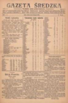 Gazeta Średzka: niezależne pismo polsko-katolickie 1922.11.14 R.1 Nr20