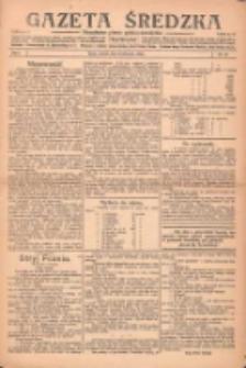 Gazeta Średzka: niezależne pismo polsko-katolickie 1922.11.21 R.1 Nr23