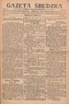 Gazeta Średzka: niezależne pismo polsko-katolickie 1922.11.23 R.1 Nr25