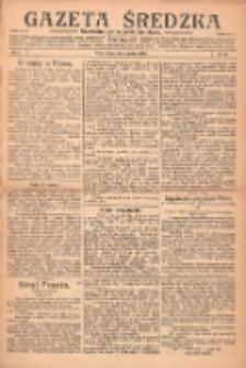 Gazeta Średzka: niezależne pismo polsko-katolickie 1922.12.05 R.1 Nr29