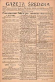 Gazeta Średzka: niezależne pismo polsko-katolickie 1922.12.09 R.1 Nr31
