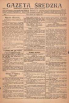 Gazeta Średzka: niezależne pismo polsko-katolickie 1922.12.28 R.1 Nr38