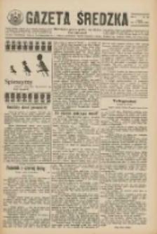 Gazeta Średzka: niezależne pismo polsko-katolickie 1925.03.21 R.4 Nr34