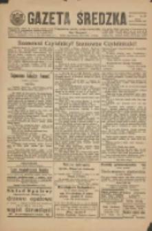 Gazeta Średzka: niezależne pismo polsko-katolickie 1925.09.15 R.4 Nr107