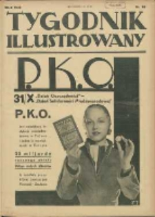 Tygodnik Illustrowany 1932.10.29 R.73 Nr44